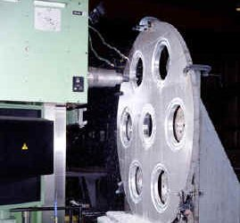 Horizontal Boring Mill, Machining a Big Aluminum Disk