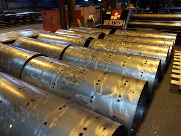 Rolled Cylinders